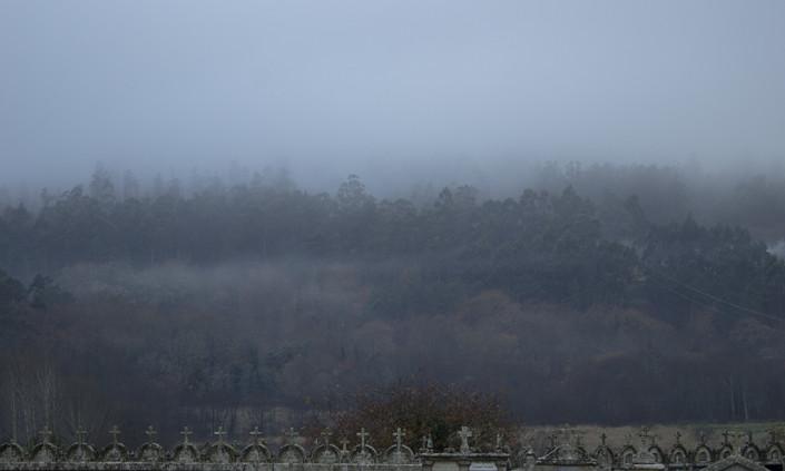 vista desde el cementerio