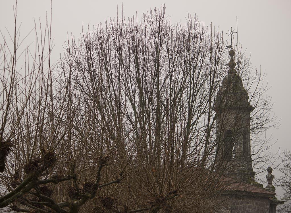 Torre de la iglesia Santa María de Villestro