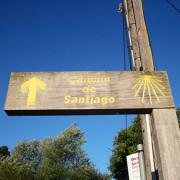 indicador Camino de Santiago